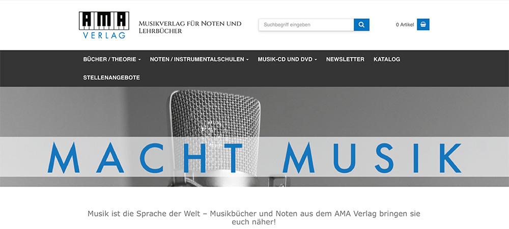 AMA Musikverlag für Noten und Lehrbücher
