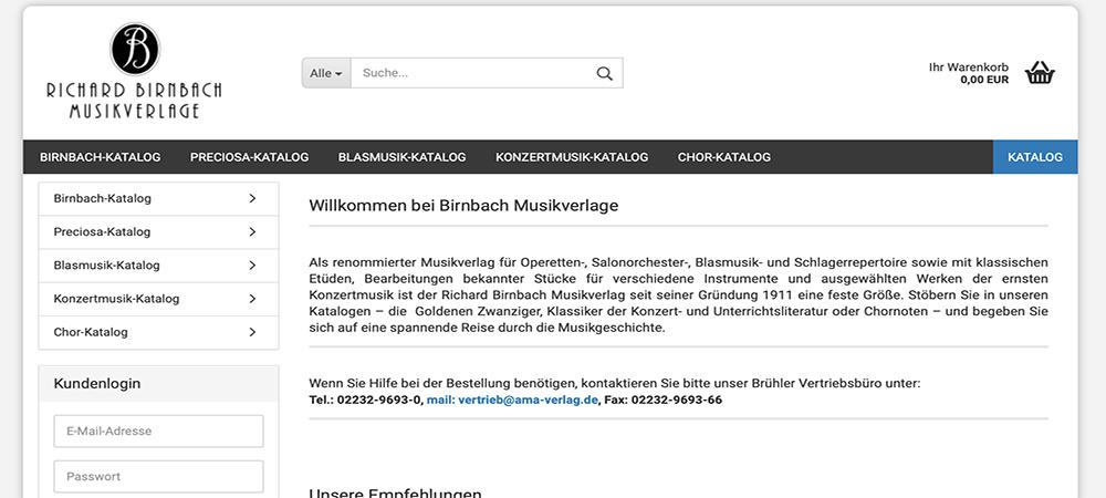 Richard Birnbach Musikverlage