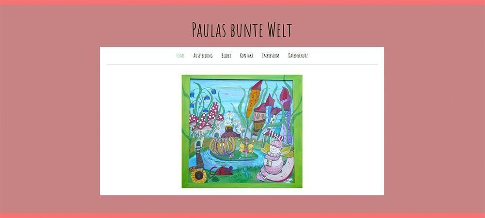 Paulas bunte Welt